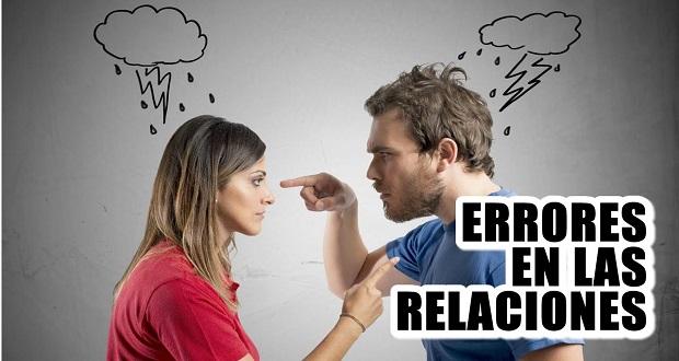 Errores Comunes Que Las Mujeres Cometen En Las Relaciones